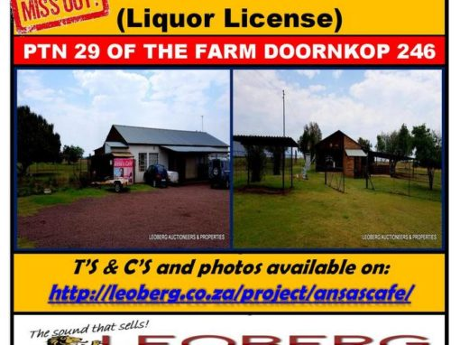 PRIME BUSINESS PROPERTY + LIQUOR LICENSE FOR SALE